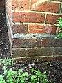 Benchmark on ^27 Spring Gardens - geograph.org.uk - 2094550.jpg