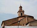 Benimàmet, església de sant Vicent màrtir per darrere.JPG
