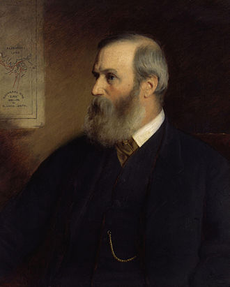 Benjamin Leigh Smith - An 1886 portrait of Benjamin Leigh Smith by Stephen Pearce