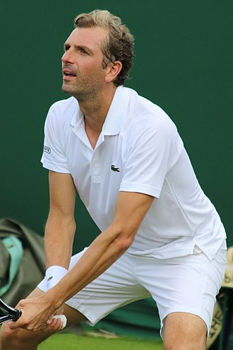 Julien Benneteau - Benneteau at the 2017 Wimbledon Championships
