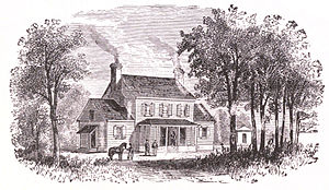 White House (plantation) - White House as it appeared when rebuilt after the American Civil War