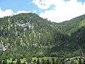 Berge der Tauernautobahn, Raststätte Flachau 2.jpg
