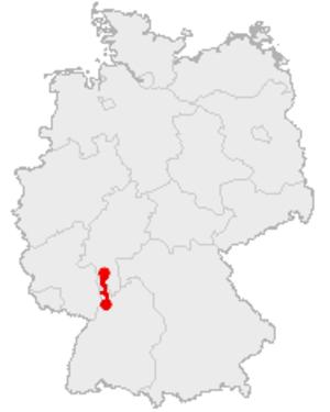 Bergstraße (route) - The Bergstraße route