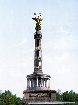 Siegessäule , See page for author [Public domain], via Wikimedia Commons
