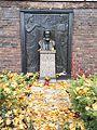 Berlin Friedrichsfelde Zentralfriedhof, Gedenkstätte der Sozialisten (Ringmauer) - Liebknecht, Wilhelm.jpg