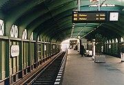 Berlin U-Bahnhof Eberswalder Straße 2001