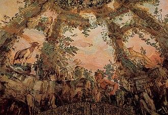 Bernardino Poccetti - Image: Bernardino Poccetti Ceiling fresco WGA17987