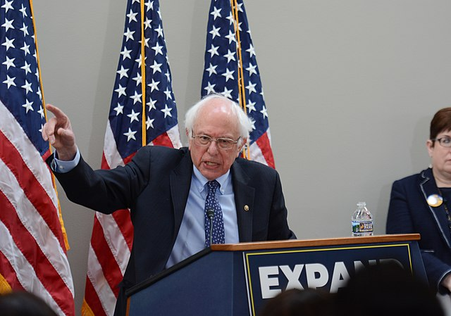 Bernie Sanders at AFGE event, From WikimediaPhotos