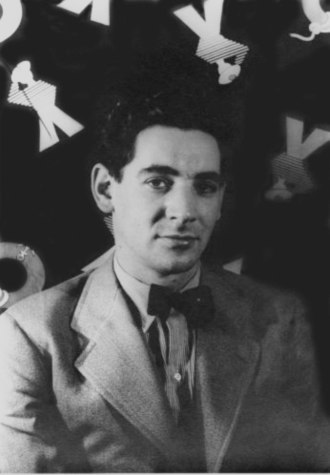 Leonard Bernstein - Photo of Bernstein by Carl Van Vechten (1944)