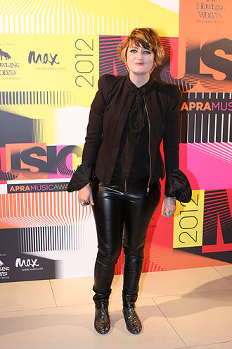Bertie Blackman - Image: Bertie Blackman at APRA Music Awards 2012