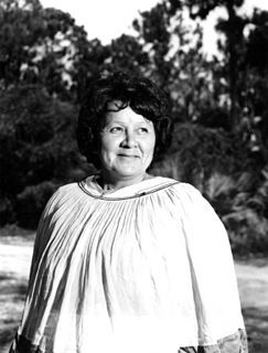 Betty Mae Tiger Jumper Chief of the Seminole Tribe of Florida, nurse and editor