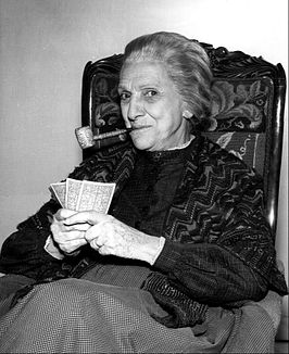 Beulah Bondi in Wagon Train (1961)