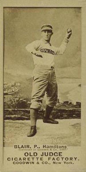 Bill Blair (American Association pitcher) - Image: Bill Blair 1887