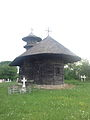 Biserica de lemn Sf. Nicolae - plan depărtat.JPG