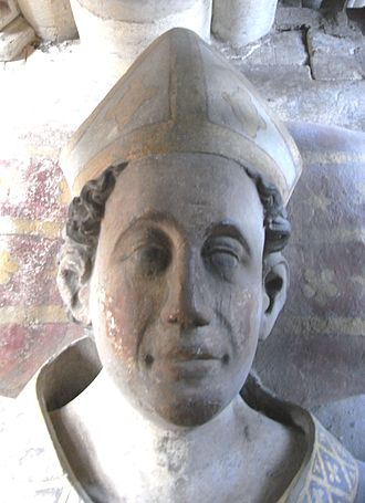 Walter de Stapledon - Walter de Stapledon (1261–1326), Bishop of Exeter. Detail from his effigy in Exeter Cathedral