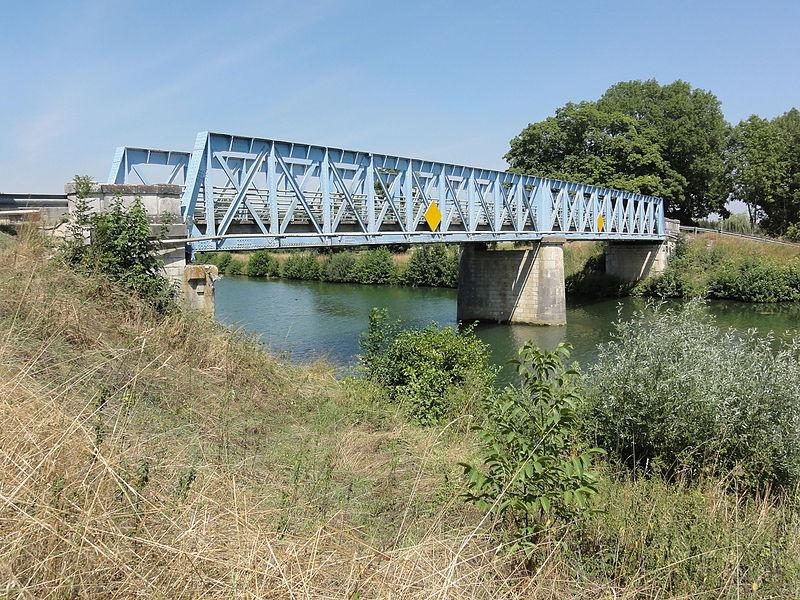 Bislée (Meuse) pont de la Meuse