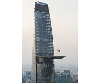 Bitexco Financial Tower - Bitexco Financial Tower Helipad