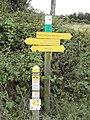 Biville (Manche) signalisation GR 223 et autres randonnées.jpg