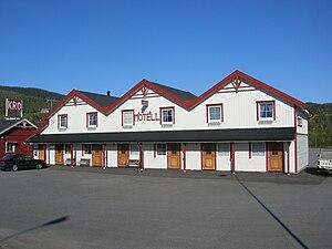 Motel - A motel in Bjerka, Norway