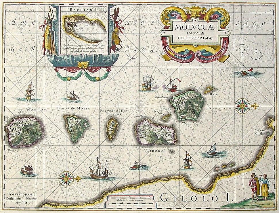 Blaeu - Moluccae Insulae Celeberrimae