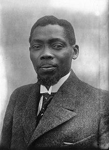 Blaise Diagne, député du Sénégal (1921)