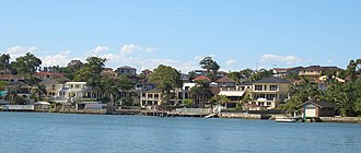Blakehurst, New South Wales - view from Shipwrights Bay