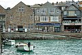 Boats moored beside West Pier, St Ives - geograph.org.uk - 1548932.jpg