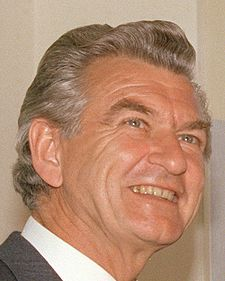 "Robert James Lee ""Bob"" Hawke"