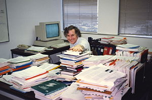 Bob Braden plots the future of the paperless o...