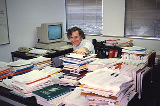 Full Desk of Paper