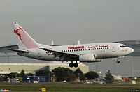 TS-IOM - B736 - Tunisair Express