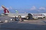 Boeing 777-2DZLR 'A7-BBE' Qatar Airways (27410741988).jpg