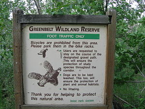 Boise greenbelt - Several wildlife preserves are incorporated within the Boise Greenbelt