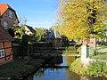 Boizenburg-ĉirkaŭfosaĵo ĉirkaŭ la malnova urbo