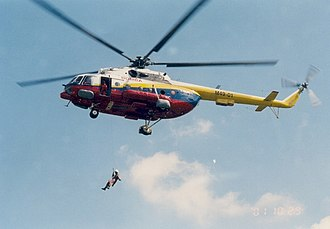 Fire and Rescue Department of Malaysia - MUST conducting helicopter exercises