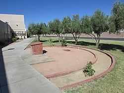 Bonanza High School Challenger memorial.JPG