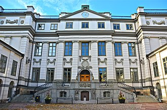 Judiciary of Sweden - The Bonde Palace in Stockholm, housing the Supreme Court