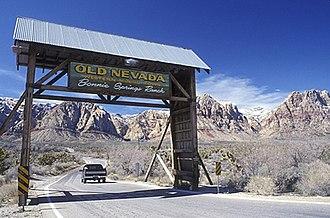 Bonnie Springs Ranch - Roadside entrance
