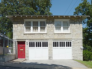 National Register of Historic Places listings in Newton County, Missouri - Image: Bonnie and Clyde Garage Apartment