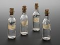 Bottle of medicinal water, France, 1928 Wellcome L0057444.jpg