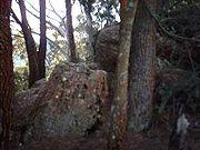 Boulders on Summit Track