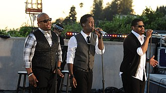Boyz II Men - Boyz II Men performing in 2011