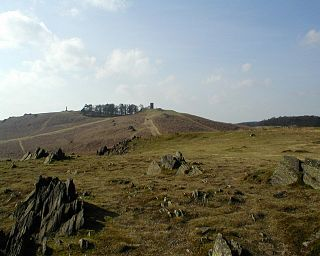Bradgate Park public park in Charnwood Forest, in Leicestershire, England