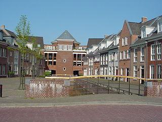 Brandevoort human settlement in the Netherlands