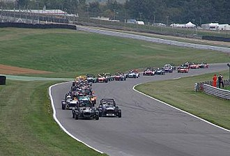 Brands Hatch - Formula Locost racing down the Cooper Straight