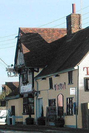 Brantham - The Brantham Bull pub