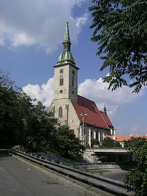 Roman Catholic Archdiocese of Bratislava - The St. Martin's Cathedral, Bratislava
