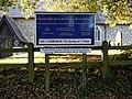 Brent Pelham Church of St Mary's notice board Hertfordshire England.jpg