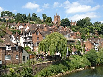 Bridgnorth - Image: Bridgnorth's High Town
