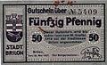 Brilon, Notgeld von 1918, 50 Pfennig..jpg